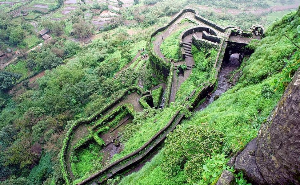 Lohagad Fort. Rich Indian History#Forts #PrideOfIndia
